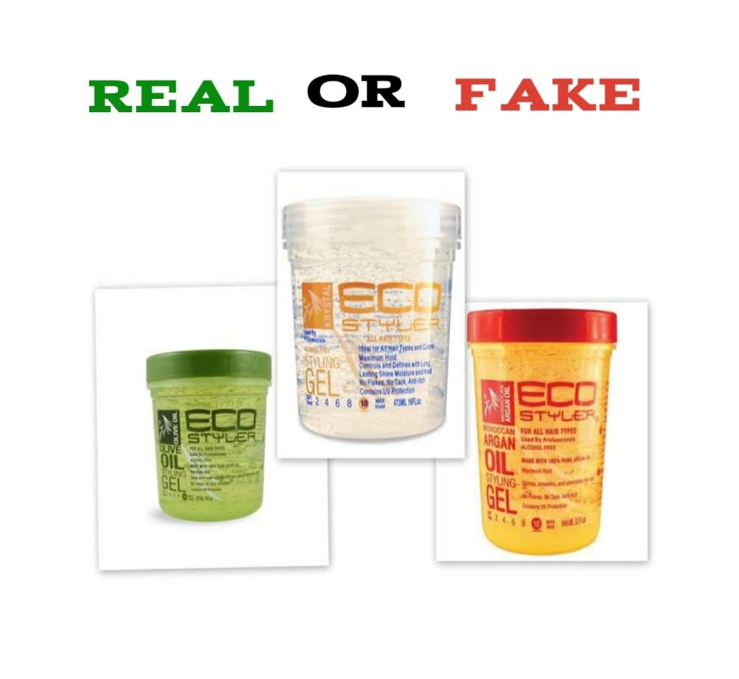 How To Spot Fake Eco Styler Gel