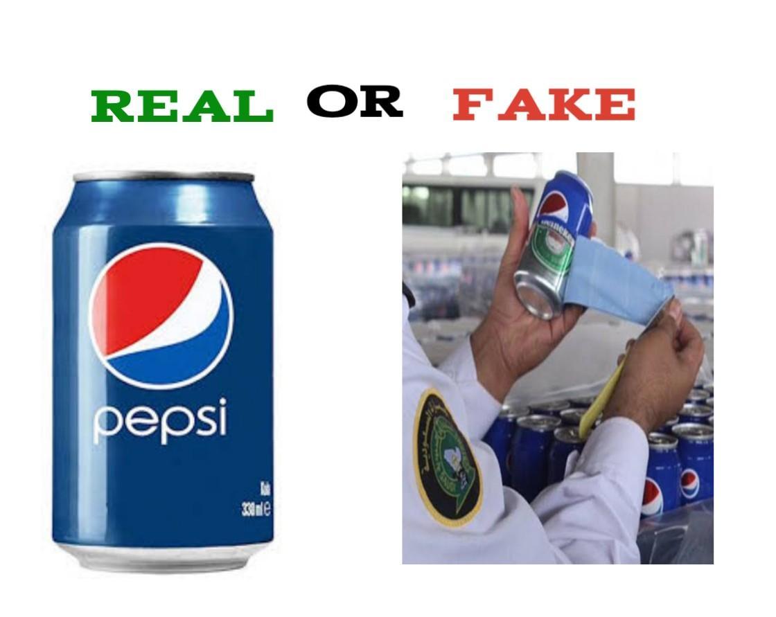 How To Spot Fake Pepsi Cola Vs Real
