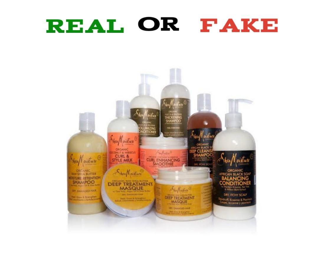 How To Spot Fake Shea Moisture Products