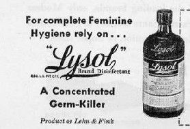 What Was Lysol Originally Used For