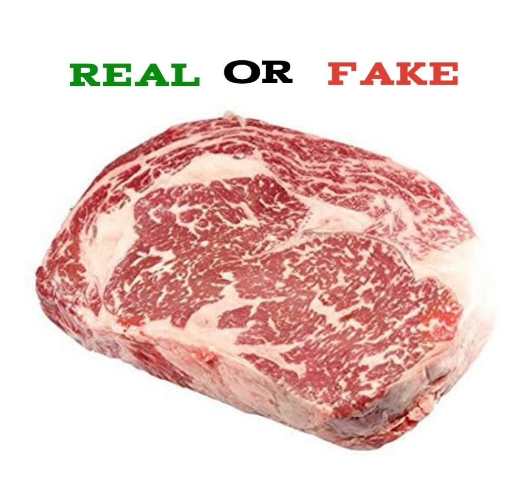 wagyu beef real vs fake