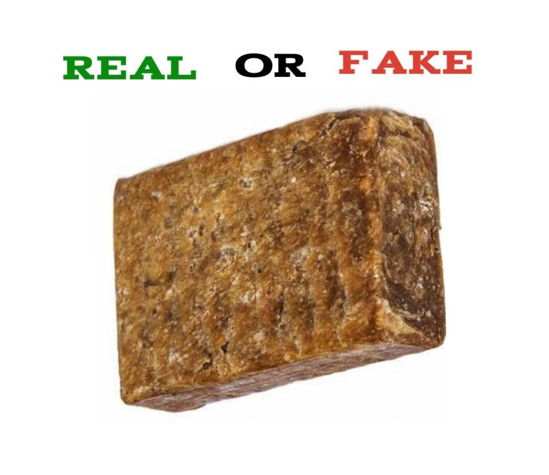 Real African Black Soap Vs Fake
