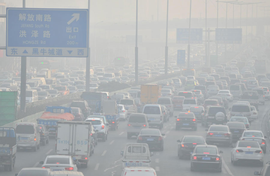 Which Type Of Pollution Includes CFCS And Smog