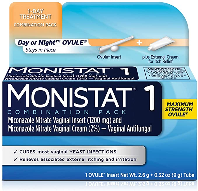 How Long Does It Take For Monistat 1 to Dissolve